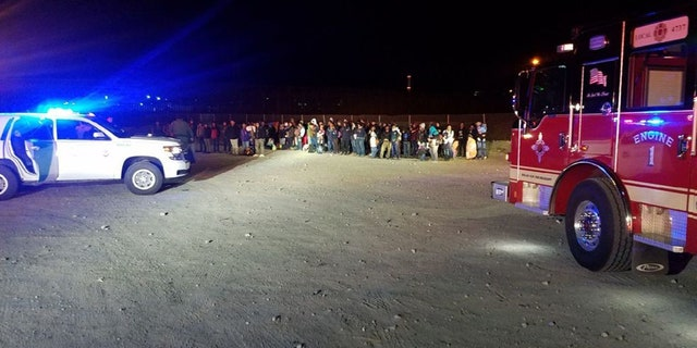 U.S. Customs and Border Protection agents in New Mexico apprehended 180 illegal immigrants crossing into the U.S. from Mexico.
