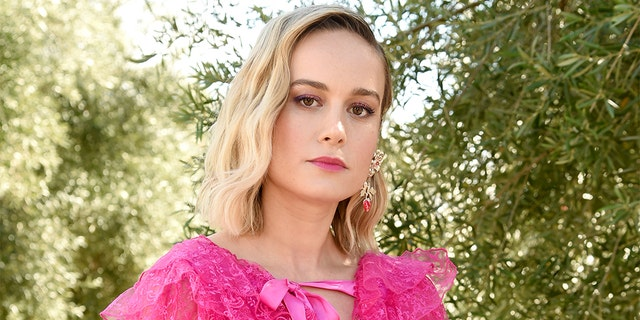 Brie Larson attends JNSQ Rose Cru debuts alongside Rodarte FW/19 Runway Show at Huntington Library on February 5, 2019, in Pasadena, California.