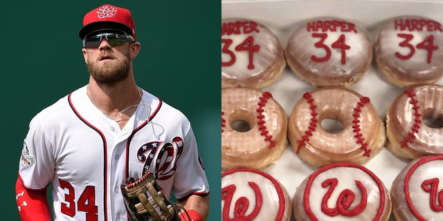 District Doughnut is hoping their sweet deal can help convince Harper to remain in Washington D.C.