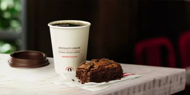 The brownie is available all day, and starts at $1.99, though price may vary by location.