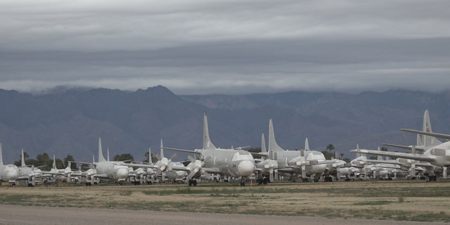 Planes from all five branches of the military, NASA, and the US Forest Service are stored at AMARG.