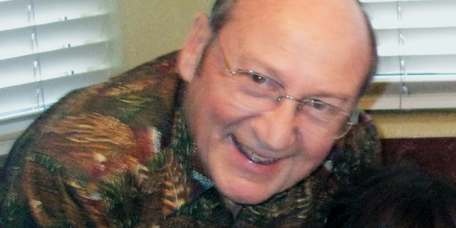FILE - This August 2010 photo provided by Reuben Ortiz, shows retired Catholic priest Jerome Coyle in Albuquerque, N.M. A Roman Catholic diocese in Iowa says it will release a list of 28 priests who have been credibly accused of sexually abusing minors over the last century. The diocese publicly promised in November 2018 that it would finalize the list and make it public. The vow came in response to an investigation by The Associated Press that exposed a 32-year cover-up of Coyle, who had allegedly confessed to abusing more than 50 boys. (Reuben Ortiz via AP, File)