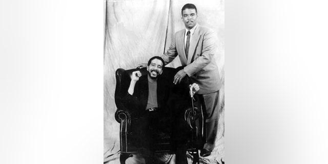 Richard Pryor Jr. with his father.