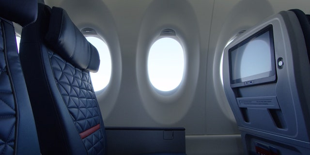 Economy seats on Delta's new A220 will be 18.6 inches wide.