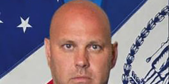 Det. Brian Simonsen was shot and killed by possible friendly fire during the armed robbery at a T-Mobile store in Queens.
