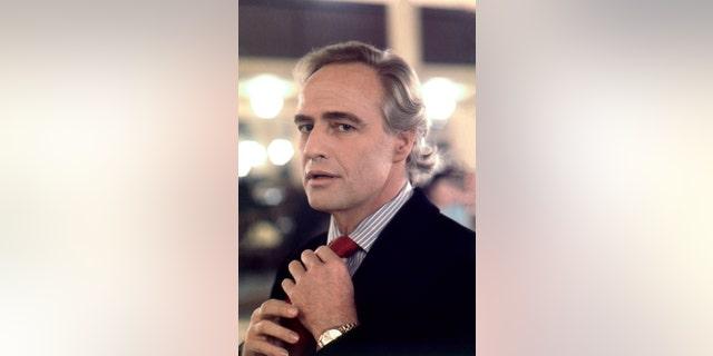 "Marlon Brando on the set of Bernardo Bertolucci's controversial masterpiece ""The Last Tango In Paris."" — Eva Sereny"