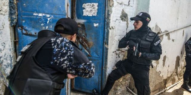 """Venezuelan National Police special forces, also known as """"death squads."""""""