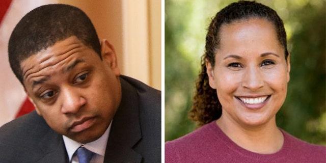 Virginia Lt. Gov. Justin Fairfax and accuser Dr. Vanessa Tyson(Getty Images/Scripps College)