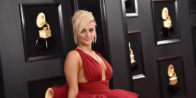 Bebe Rexha attends the 61st Annual GRAMMY Awards at Staples Center on February 10, 2019 in Los Angeles, Calif.