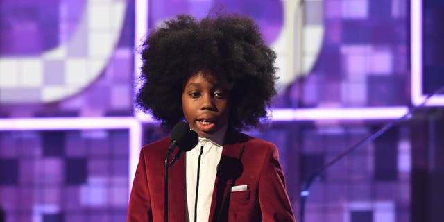 Raif-Henok Emmanuel Kendrick has the Internet declaring he 'stole the show' after he spoke on-stage to introduce his grandmother Diana Ross' performance at the 2019 Grammys.