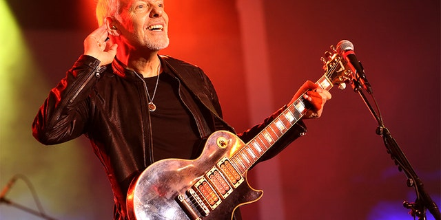 Peter Frampton performs onstage at the TEC Awards during the 2019 NAMM Show at the Hilton Anaheim on January 26, 2019 in Anaheim, California.