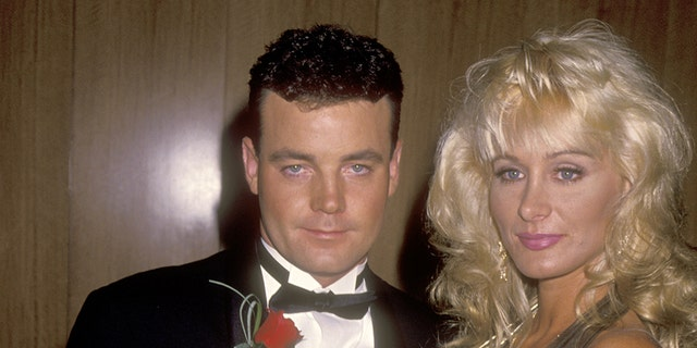 "John Wayne Bobbitt and porn star Crystal Gold attend the ""John Wayne Bobbitt Uncut"" Beverly Hills Premiere on September 29, 1994 at Academy Theatre in Beverly Hills, California."