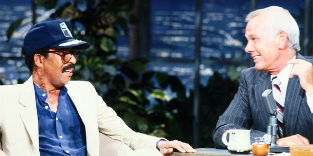 """Richard Pryor, then 39, said he was """"just happy to be alive"""" during an interview on Johnny Carson's """"Tonight Show."""" It was his first performance since he was released from the hospital six weeks prior. — Getty"""