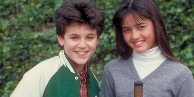 "UNITED STATES - DECEMBER 28: THE WONDER YEARS - ""Just Between You and Me ... and Kirk and Paul and Carla and Becky"" - Season Two - 12/28/88, Kevin (Fred Savage) and Winnie's (Danica McKellar) relationships go awry. — Getty"