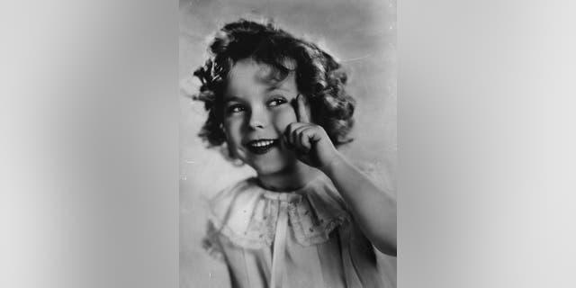 Shirley Temple circa 1934.