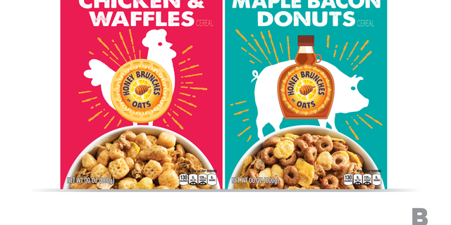 Is meat-flavored cereal a thing now? Apparently yes, but not for long. Both boxes are available for a limited time only, so once they're gone, they're gone.