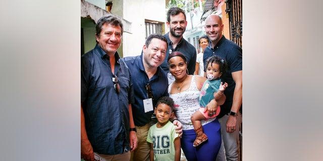 Rick, Daniel's family, Dr. Henry Cloud, Pastor Josh Thompson, Pastor Drew Sams.