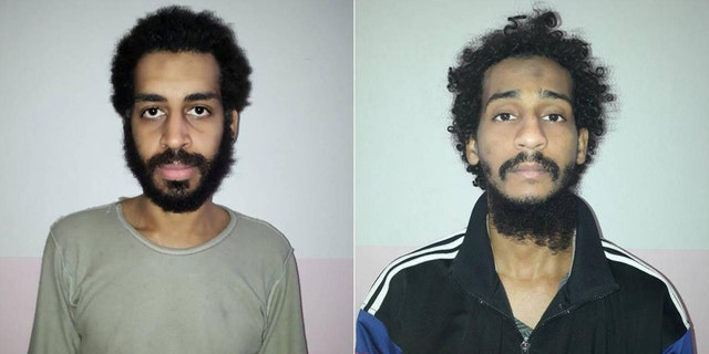 Wallace's comments come amid reports that two other British ISIS fighters (pictured left to right) Alexanda Kotey and Shafee El Sheikh, nicknamed