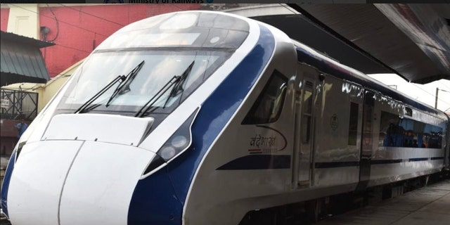 """India's fastest train, the """"Vande Bharat Express,"""" broke down on Saturday during its inaugural run."""