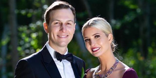 Ivanka Trump, with husband Jared Kushner.