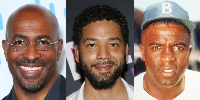 """CNN's Van Jones compared """"Empire"""" actor Jussie Smollett to Jackie Robinson, the first black player in Major League Baseball."""