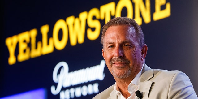 Kevin Costner attends 'A conversation with Kevin Costner from Paramount Network and Yellowstone' during the Cannes Lions Festival 2018.