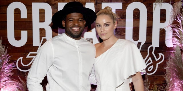 Lindsey Vonn and P.K. Subban started dating last year.