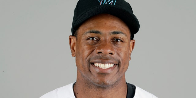 This is a 2019 photo of Curtis Granderson of the Miami Marlins baseball team. This image reflects the 2019 active roster as of Wednesday, Feb. 20, 2019, when this image was taken.