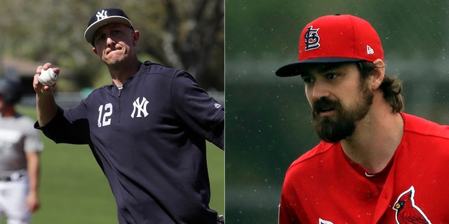 Troy Tulowitzki, left, and Andrew Miller are among veterans who will be wearing new unforms this season