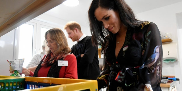 Prince Harry and Meghan Markle dropped by for an unexpected visit at the One25 charity foundation in Bristol on Friday.
