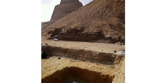 The discovery is the latest fascinating archaeological find in Egypt. (Egyptian Ministry of Antiquities)