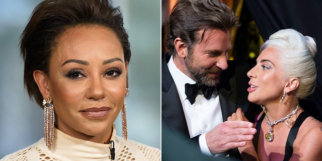 """Mel B said she felt """"very uncomfortable"""" for Bradley Cooper's longtime girlfriend during Cooper and Lady Gaga's performance of """"Shallow"""" on Sunday."""