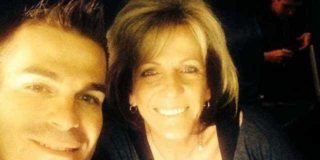 Mary Ann Mendoza and her son Brandon