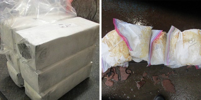 A series of drug busts by Border Patrol agents over the last week led to roughly $4.8 million in meth being seized, officials said Monday.