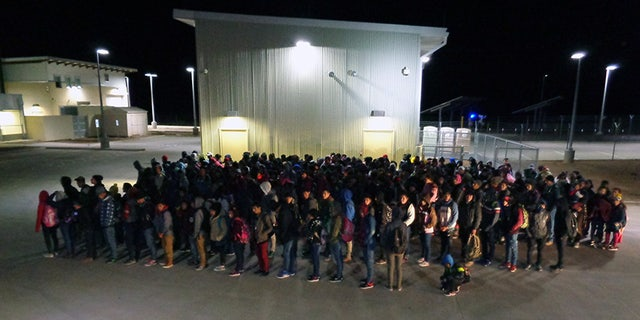 The 330 migrants apprehended at Antelope Wells, N.M.