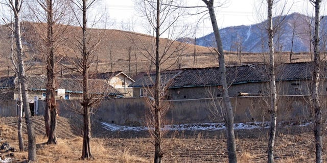 A women's prison at the border of North Korea at Dandong.