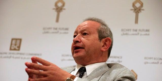 FILE: Egyptian billionaire businessman Naguib Sawiris.