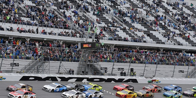 "Six days before the 61st running of ""The Great American Race,"" Daytona International Speedway announced J.J. Watt will serve as the grand marshal for the Daytona 500. (AP Photo/Terry Renna)"