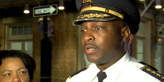 """New Orleans Police Chief Shaun Ferguson said that gun crime on Bourbon Street would """"not be accepted.'"""