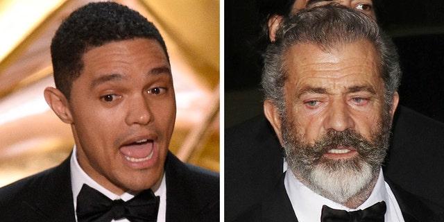 Trevor Noah took a shot at Mel Gibson during the 2019 Oscars.