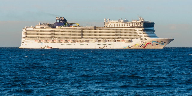 """Norwegian Cruise Line says """"prevailing winds"""" caused the collision."""