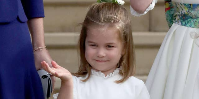 """""""I can do [Charlotte's] ponytail, but that's about it as I don't have enough hair to practice on!"""" the 36-year-old royal added in jest."""
