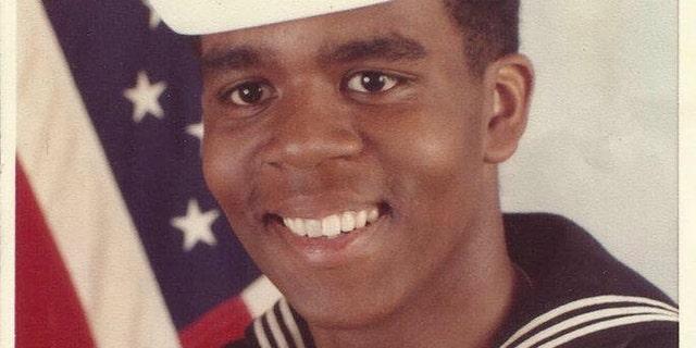 Richard Pryor Jr. in the Navy.