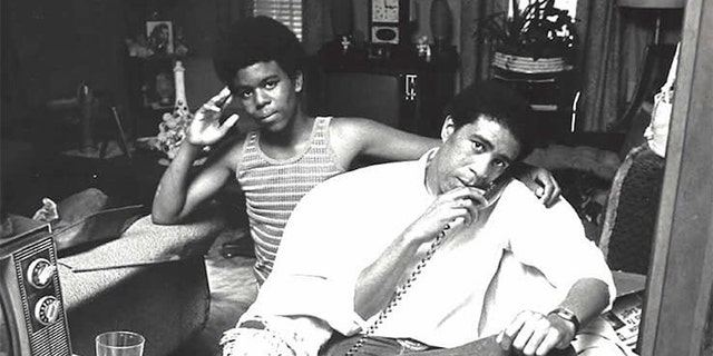 Richard Pryor Jr. with his father, stand-up legend Richard Pryor.