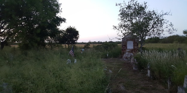Santa Rosalia Cemetery was filled with overgrown weeds until a group of volunteers decided to start cleaning it last year.