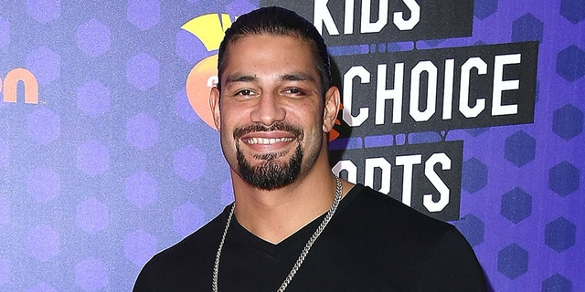 Roman Reigns, seen here at the Nickelodeon Kids' Choice Sports Awards in July 2018, revealed his cancer's in remission. (Photo by Steve Granitz/WireImage, File)