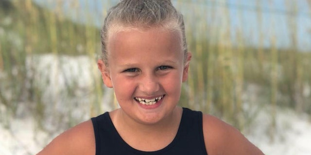 Sable Gibson, 10, died one day after being diagnosed with strep throat and the flu. (Facebook)