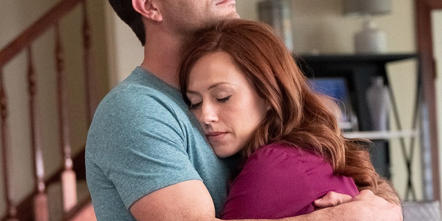 "A scene from ""Unplanned."""