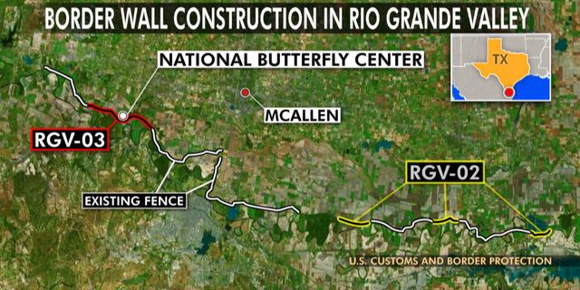 Last year, Customs and Border Protection awarded contracts for two border wall projects in the Rio Grande Valley, totaling 14 miles.