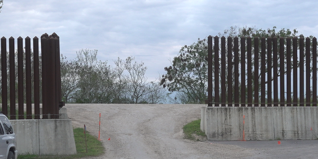 The cemetery sits beyond this section of border wall. Within months, a border wall gate will be built, and some say that could further discourage people from visiting the cemetery.